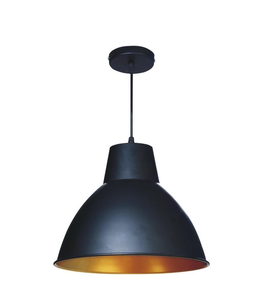 Apollo Indoor Hanging Light 12W (Matt Black)