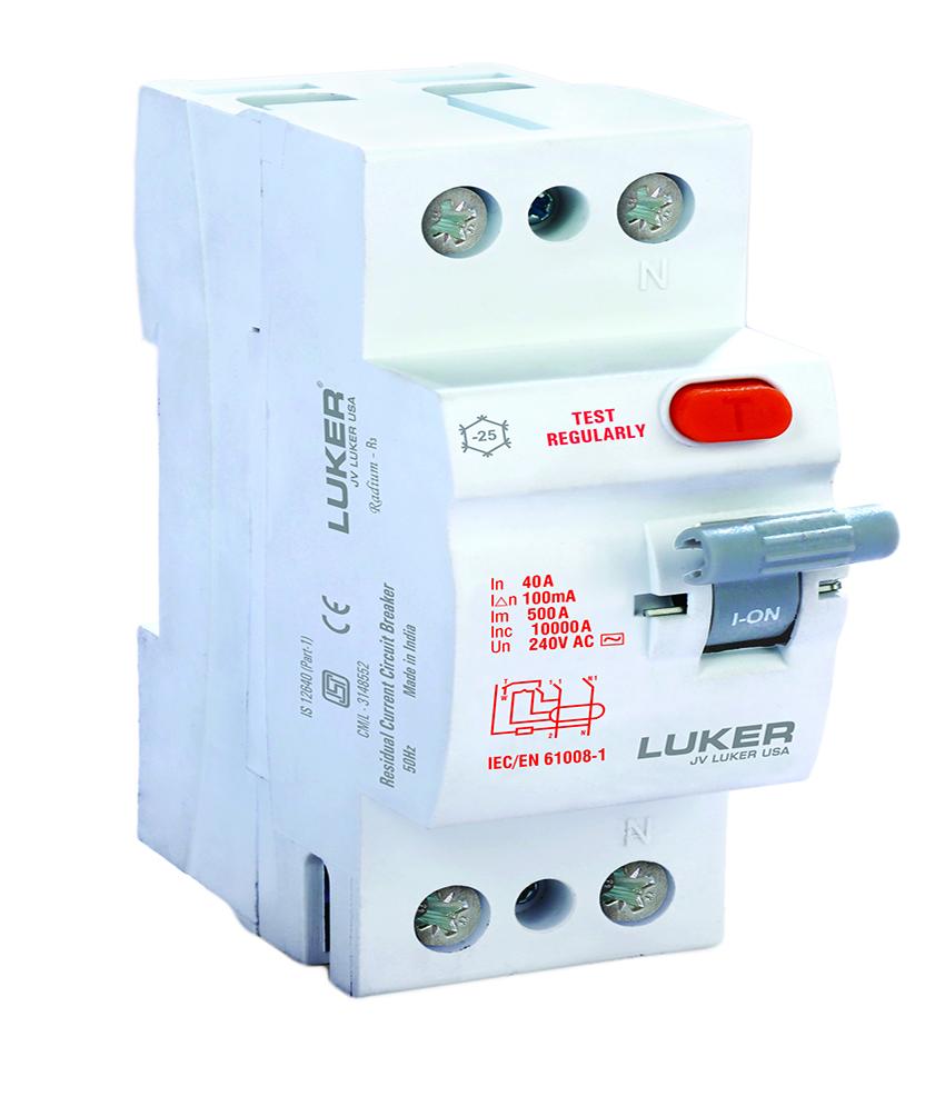 DP Higher Rating RCCB AC Type - 30mA - Rating 100