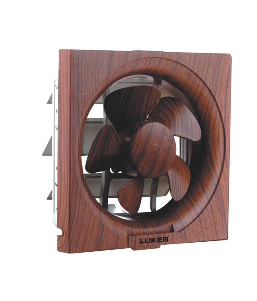 Ventil Aid - Lxw Series - Back shutter Fans with wooden Finish - LXW6