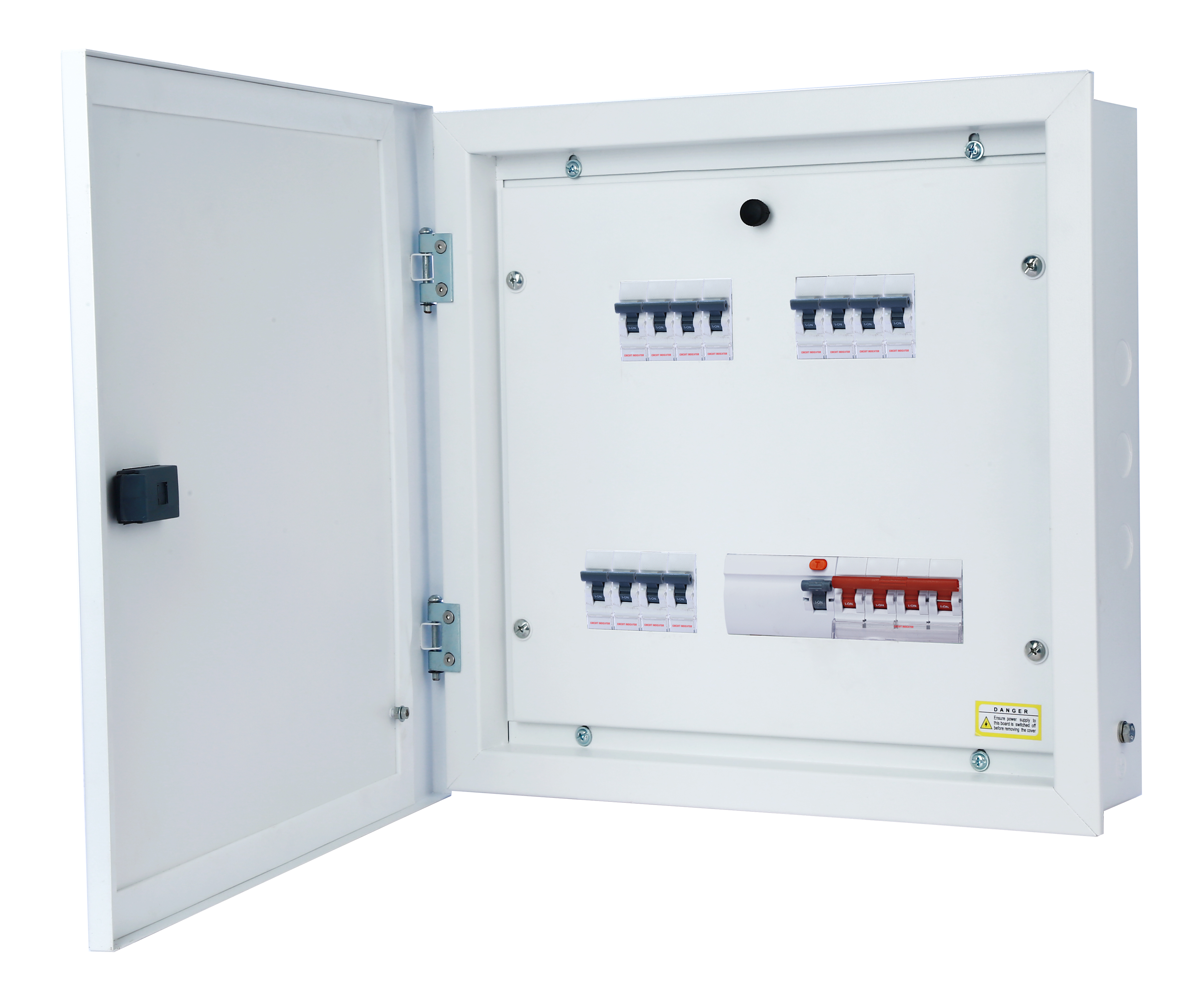 TP & N Distribution Board - 6 way ( With Extra Neutral Link )